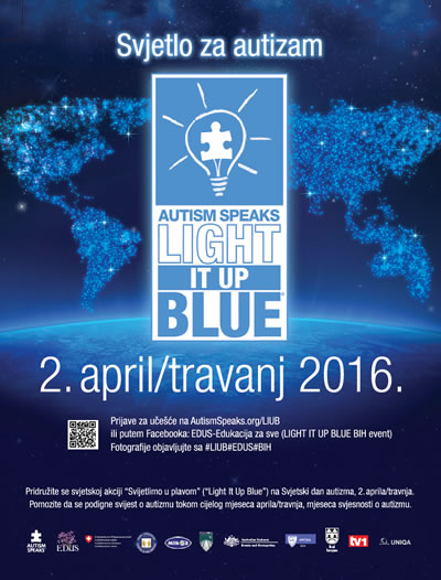 Light It Up Blue BiH 2016 (LIUB) 2016